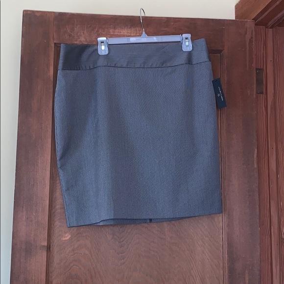 Worthington Dresses & Skirts - Nwt Worthington black/white chain skirt size 18